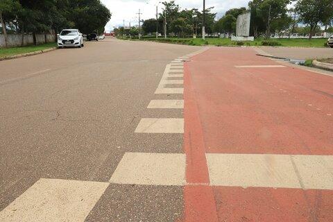 Ampliado o número de ciclofaixas e abrigos para passageiros do transporte coletivo em Porto Velho