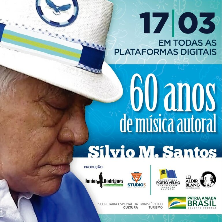 Lenha Fogueira com Silvio M. Santos 60 Anos de Música Autoral. - Gente de Opinião