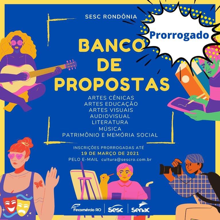Lenha na Fogueira com Banco de Propostas Culturais/Sesc–RO e o 1º Festival de Cinema de Rondônia - Gente de Opinião