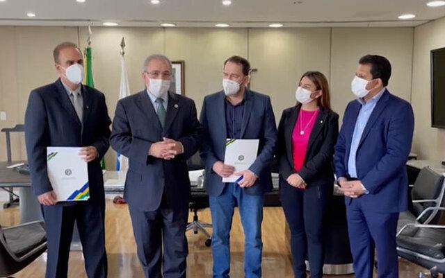 Deputados de Rondônia cobram melhor tratamento ao estado na distribuição de vacinas - Gente de Opinião