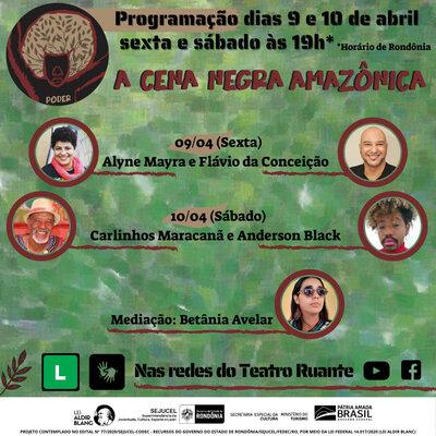 Lenha na Fogueira e a Cena Negra Amazônica continua.
