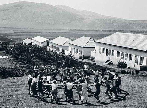 Kibutz: a implantação dos assentamentos rurais