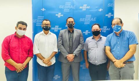 Lideranças políticas visitam Sebrae em Rondônia e debatem empreendedorismo