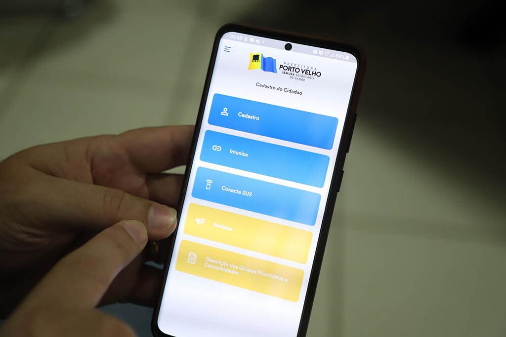 Aplicativo para agendamento e gerenciamento de informações da vacina vai tornar o processo mais eficiente em Porto Velho - Gente de Opinião