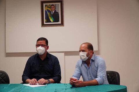 """Marcos Rocha atende indicação do deputado Cirone Deiró e confirma """"Tudo Aqui"""" para atender Cacoal"""
