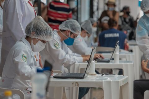 Inscrições para trabalho voluntário na vacinação contra a Covid-19 estão abertas em Porto Velho