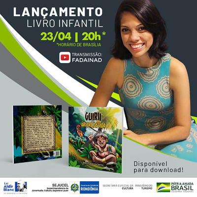 6° Sarau Infantil da Fada Inad contará com lançamento de livro e programação especial voltados ao público infantil