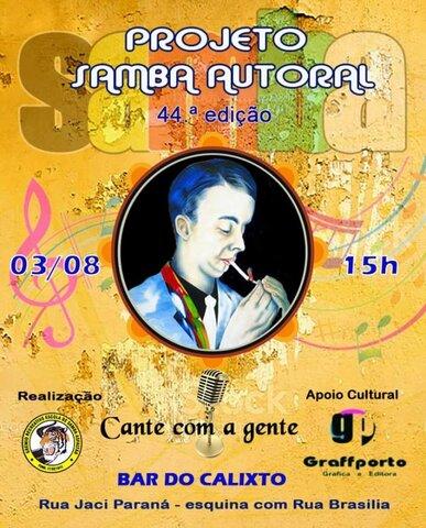 Lenha na Fogueira com Samba Autoral Solidário e Franklyn Queiroz com o álbum Revolução do Bem - Gente de Opinião