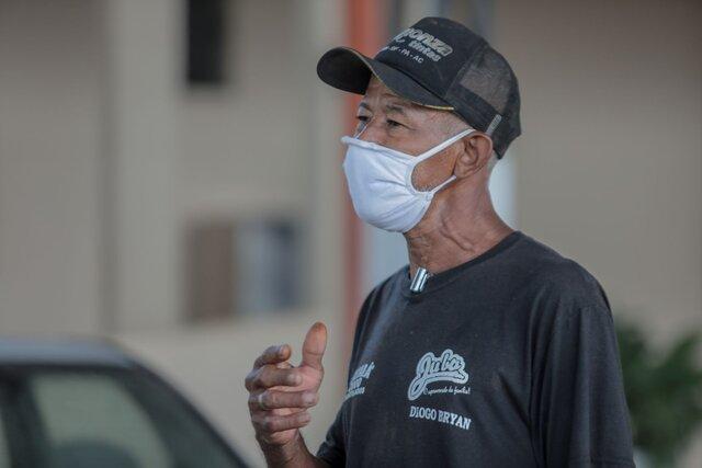 José Tibúrcio - Morador Vacinação - Pessoa em situação de rua - Gente de Opinião