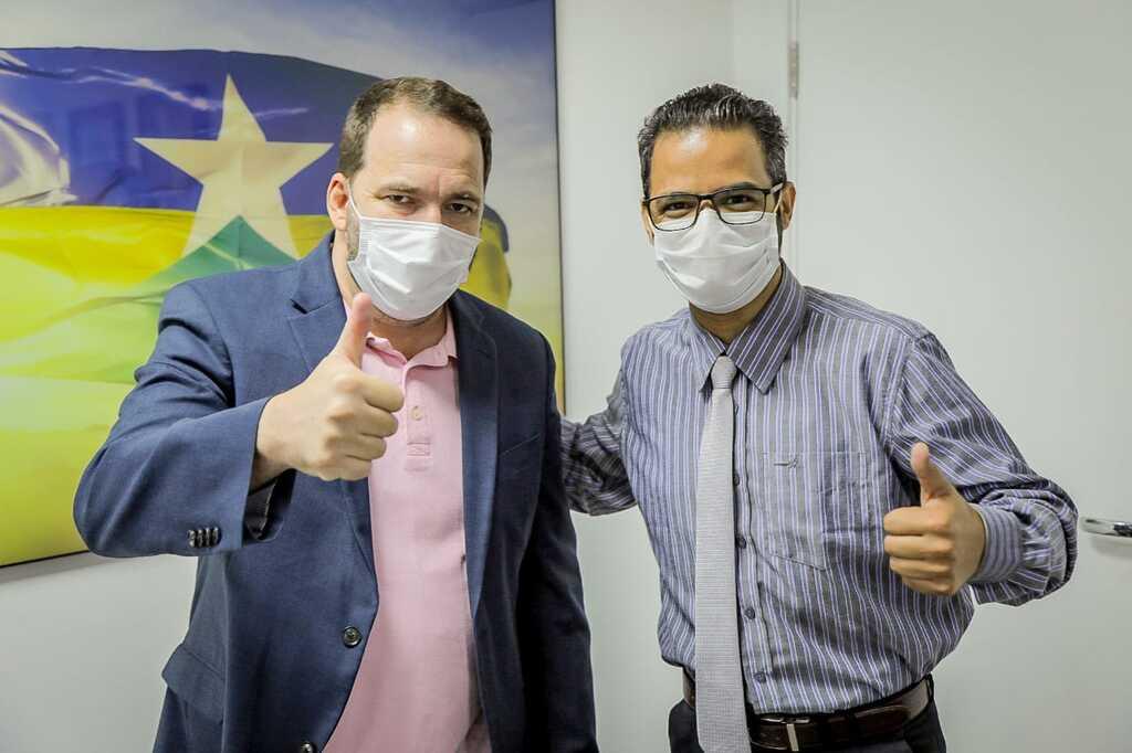 Deputado Alex Redano recebe o presidente da ASSEJUS e garante portas abertas na ALE - Gente de Opinião