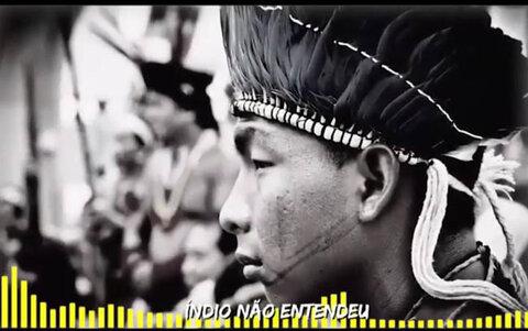 "O vídeo clip da música ""Lamento da Amazônia"" de Silvio Santos"