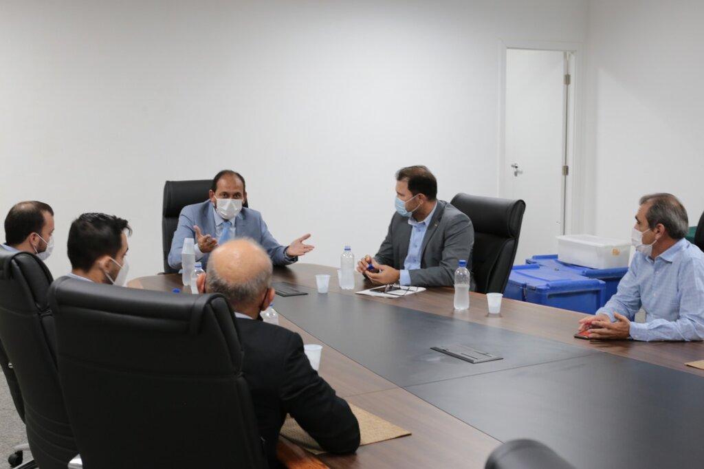 Deputado Laerte Gomes se reúne com cúpula do DER e defende 'Passe Livre' para pessoas com comorbidades e necessidade de transporte intermunicipal para tratamento médico  - Gente de Opinião