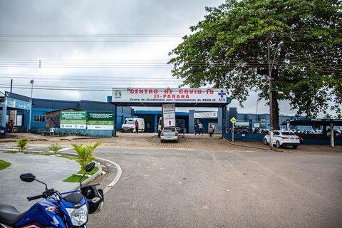 Internações por Covid-19 diminuem mais de 60% no Hospital Municipal de Ji Paraná