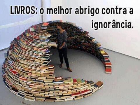 A Janela da escrita e dos livros