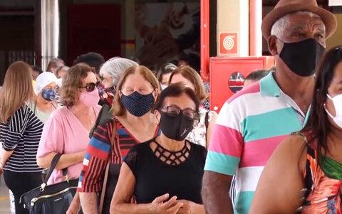 Caos na aplicação da segunda dose da vacina em Porto Velho