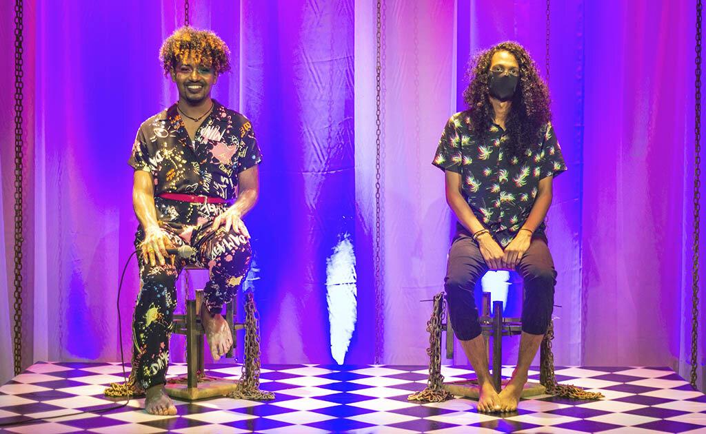 Lenha na Fogueira com o Samba Autoral Solidário e o Futuro De Anderson Black - Gente de Opinião