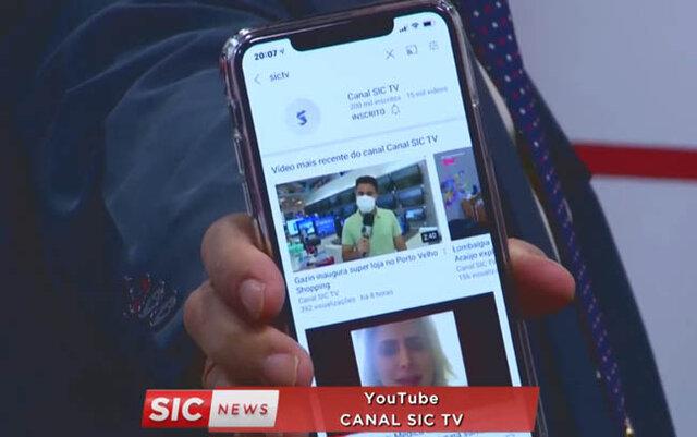 Canal da SIC TV do YouTube atinge 200 mil seguidores - Gente de Opinião