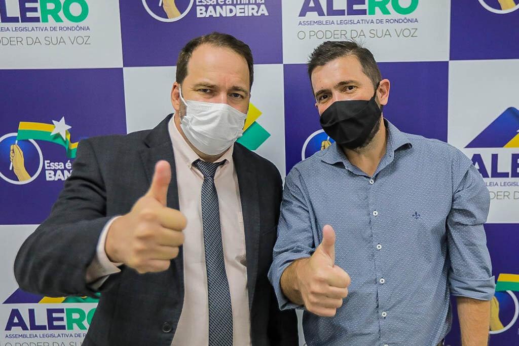 Presidente Alex Redano assegura emenda de R$ 600 mil para Cacoal  - Gente de Opinião