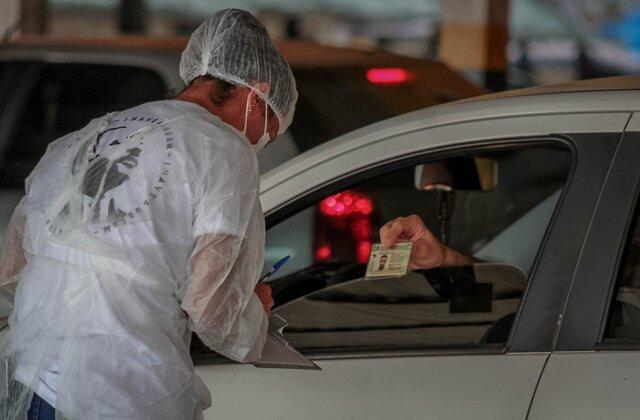 Drive-thru de testagem rápida para diagnóstico da covid-19 chega na zona Sul de Porto Velho