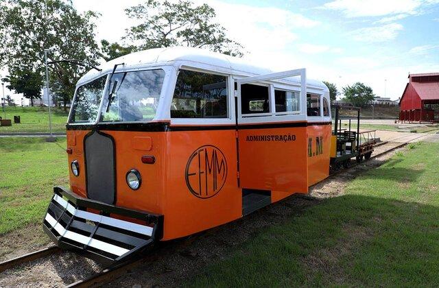 Veículos históricos retornam para a Estrada de Ferro Madeira-Mamoré