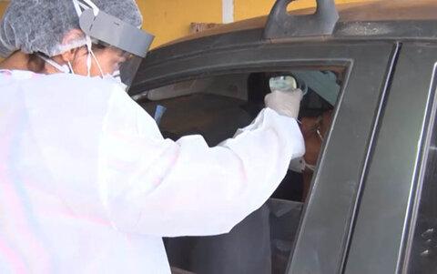 Porto Velho: 10% dos testados no Drive Thru estavam infectados