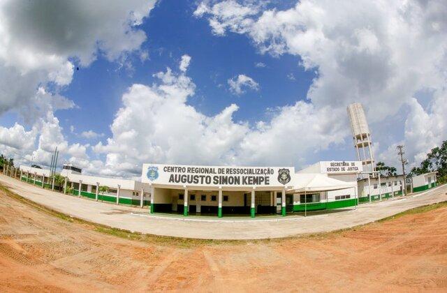 Governo entrega novo Centro Regional de Ressocialização em Jaru