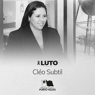 Hildon Chaves lamenta o falecimento da jornalista Cléo Subtil, coordenadora de Imprensa da Prefeitura