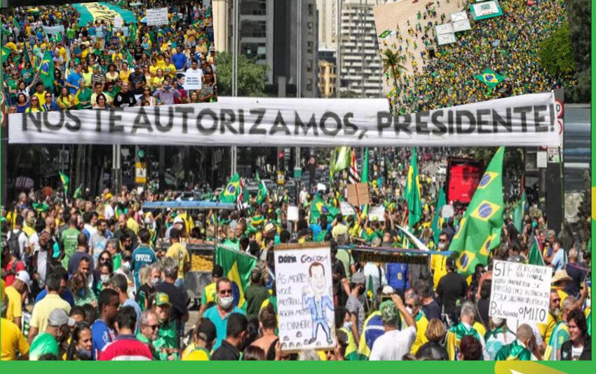 Milhões vão às ruas para dizer sim ao governo + Assembleia começa a mudar em breve + A BR continua matando