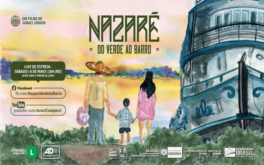Lenha na Fogueira com Nazaré: do verde ao barro e o SHOW SOBRE VOCÊ do cantor BRUNO BRATILIERI