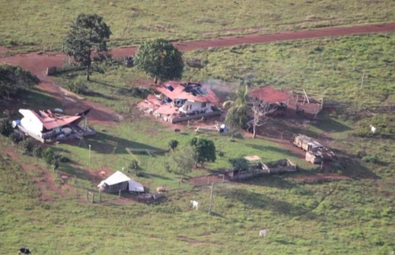 Justiça quer invasores longe da Fazenda Santa Carmem