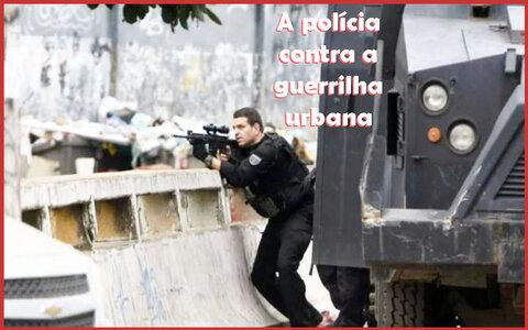 Guerrilha urbana no Rio + O mesmo Bolsonaro: provocativo, diferente, no meio do povo + Falso policial ameaça produtores