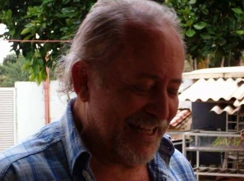 O artista plástico e escritor Eddie Pacheco, pai do jornalista Eduardo Kopanakis, morre de Covid