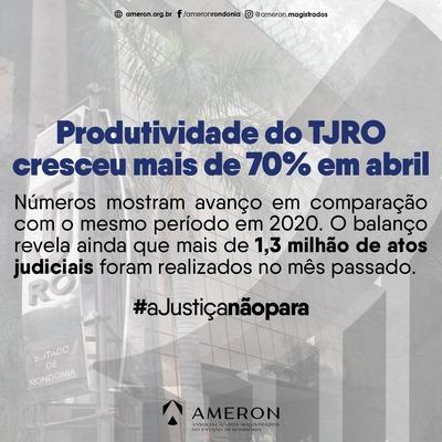 Justiça de Rondônia apresenta aumento acima de 70% no volume de trabalho durante a pandemia