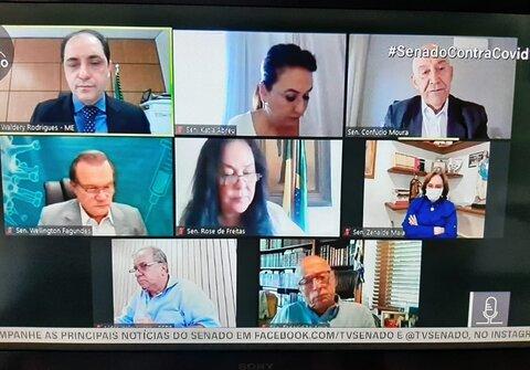 Audiência aproximou governadores, Anvisa e União Química para juntos trazer mais vacinas ao Brasil, afirma Confúcio Moura