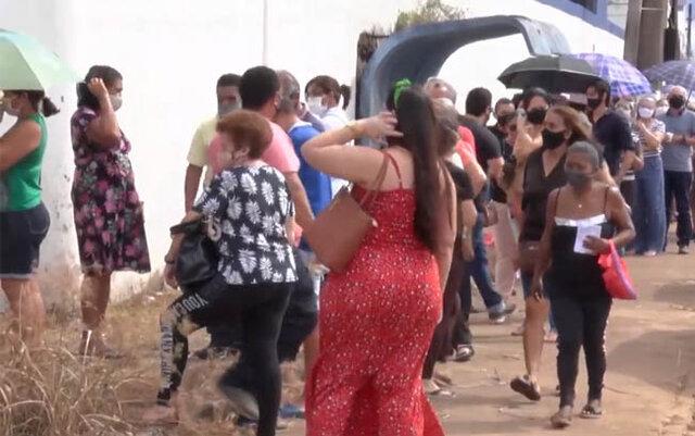 Embora grande aglomeração, Idosos recebem segunda dose da Coronavac em Porto Velho - Gente de Opinião