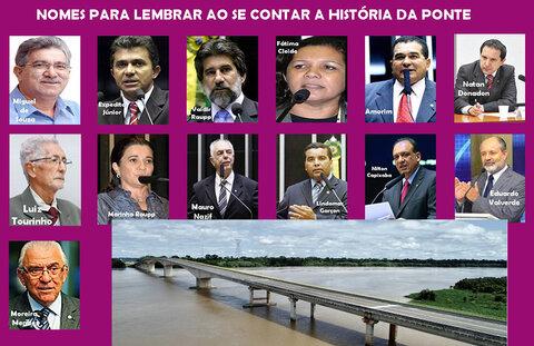Projeto da ponte andou em 2009 + Circo da CPI e factoides + Mariana comemora vacina com princípio ativo brasileiro