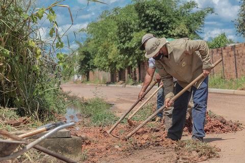 Obras de infraestrutura são realizadas em 11 bairros de Porto Velho