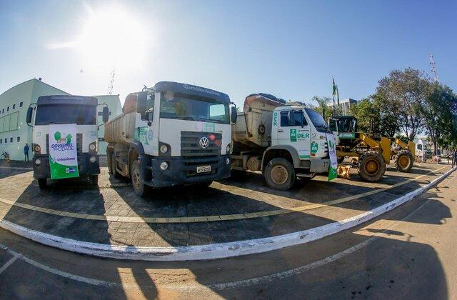 """Projetos """"Tchau Poeira"""" e """"Governo na Cidade"""" são lançados oficialmente pelo Governo de Rondônia, em Ariquemes"""