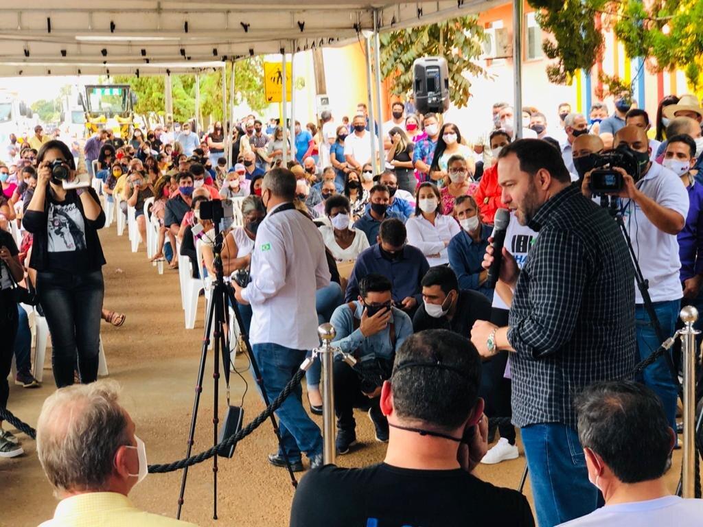 Em Vilhena, presidente Alex Redano participa do lançamento de programas do Governo - Gente de Opinião