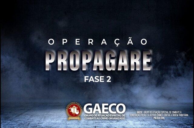 GAECO deflagra a segunda fase da Operação Propagare contra organização criminosa liderada pelo Secretário-chefe da Casa Civil do Estado de Rondônia - Gente de Opinião