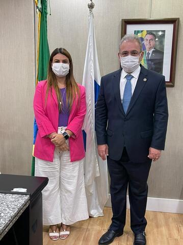 Proposta da Deputada Mariana para estabelecer data para conscientização tem o apoio do Ministro da Saúde, Dr. Marcelo Queiroga - Gente de Opinião