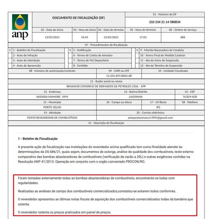 Fiscalização da ANP e IPEM desmonta fake-news contra posto de combustíveis - Gente de Opinião