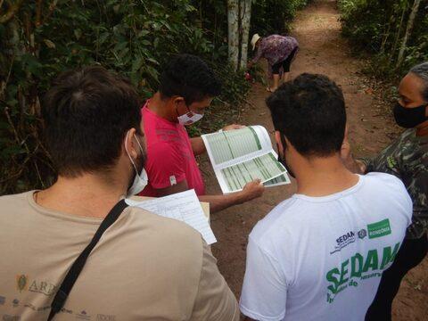 Sedam realiza capacitação de monitoramento da fauna na Reserva Extrativista Pacaás Novos, em Guajará-Mirim