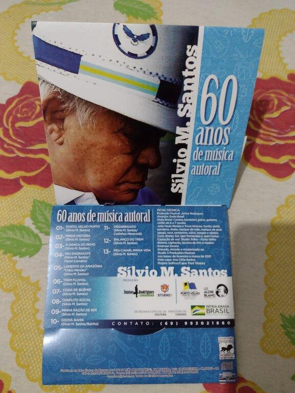 Lenha na Fogueira com CD: Silvio M. Santos – 60 Anos de Música Autoral e a  Festa do Divino no Vale do Guaporé que é tema de filme  - Gente de Opinião