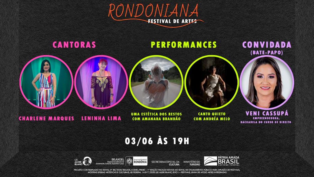 Lenha na fogueira e Mulheres são destaque no 1º Festival Rondoniana de Artes - Gente de Opinião