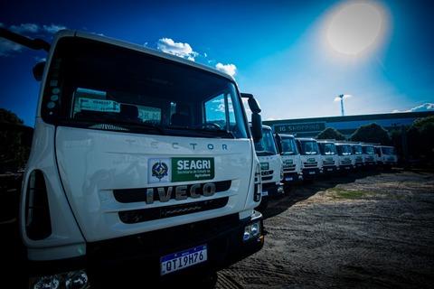 Governo de Rondônia fortalece agricultura familiar com entrega de maquinários agrícolas a 17 municípios