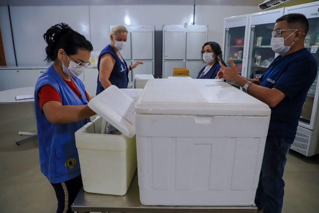 Porto Velho atinge a marca de 100 mil vacinados com a primeira dose contra a Covid-19   - Gente de Opinião