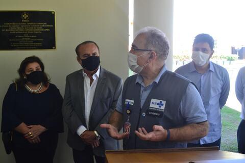 AMB-RO teve a honra de recepcionar o Ministro da Saúde durante visita em Porto Velho