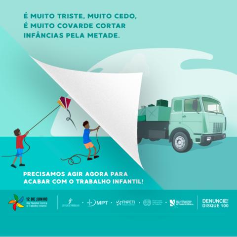 Campanha alerta para urgência em erradicar o trabalho infantil - Gente de Opinião