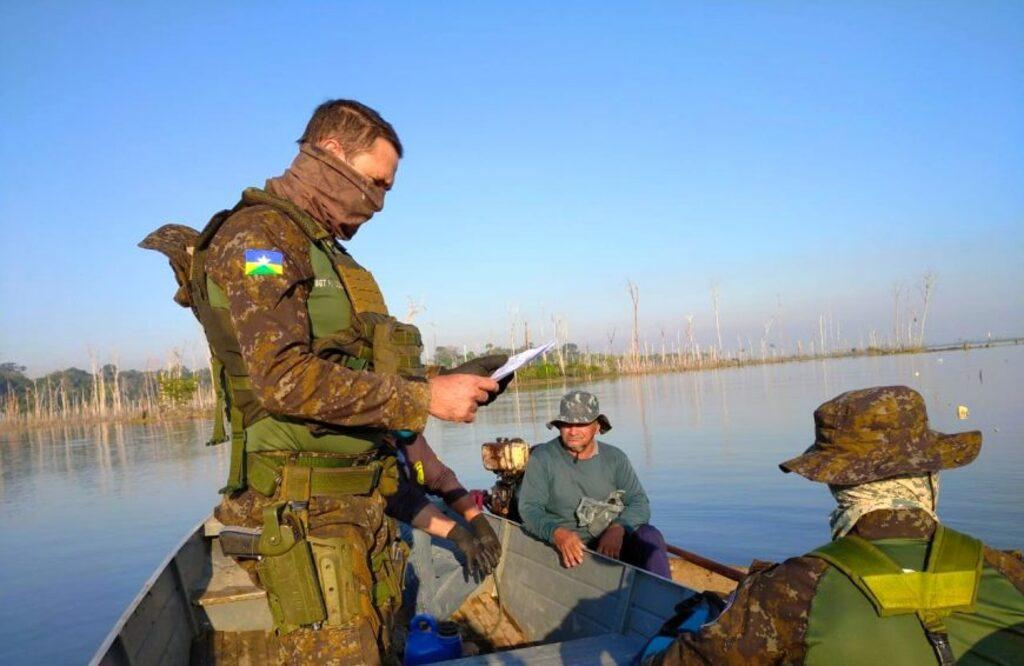 Batalhão da Polícia Ambiental executa fiscalização para combater pesca clandestina em Rondônia - Gente de Opinião